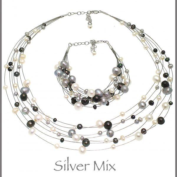 Silver Grey Mix