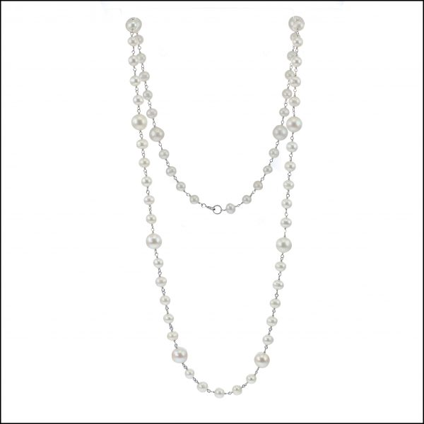 Lido Pearls Rope Necklace - F293 -0