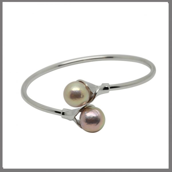 Lido Pearls - T135B Edison Pearls Bangle-0