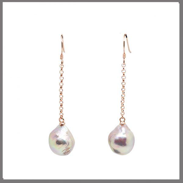 Lido Pearls - T139E - Rose Gold-0