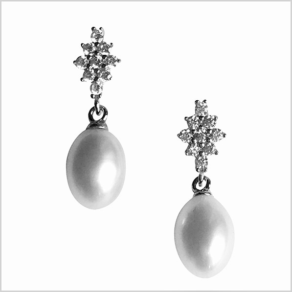 Lido Pearl Earrings - T119E-0