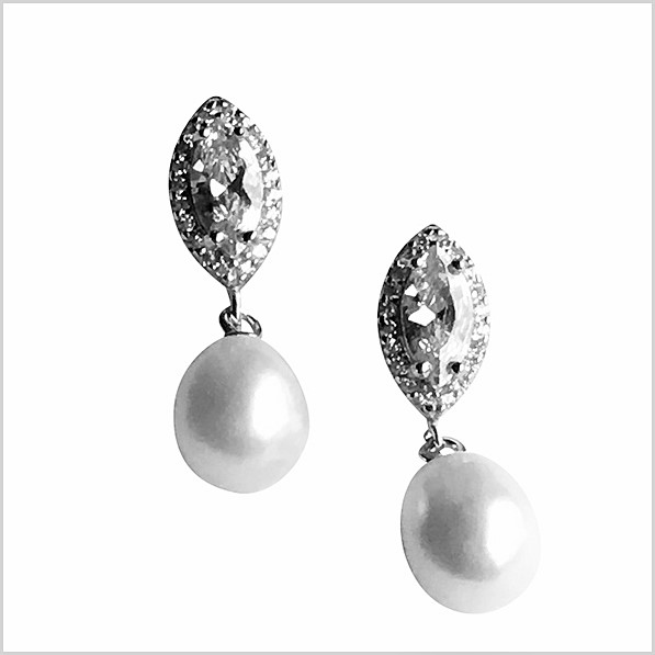 Lido Pearls Earrings - KS120E-0