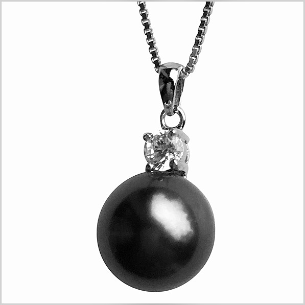 Lido Pearls Pendant - MF052 Tahitain Pearl-0