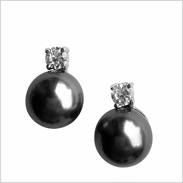 Lido Pearls Earring - MF052E Tahitian Pearls-0