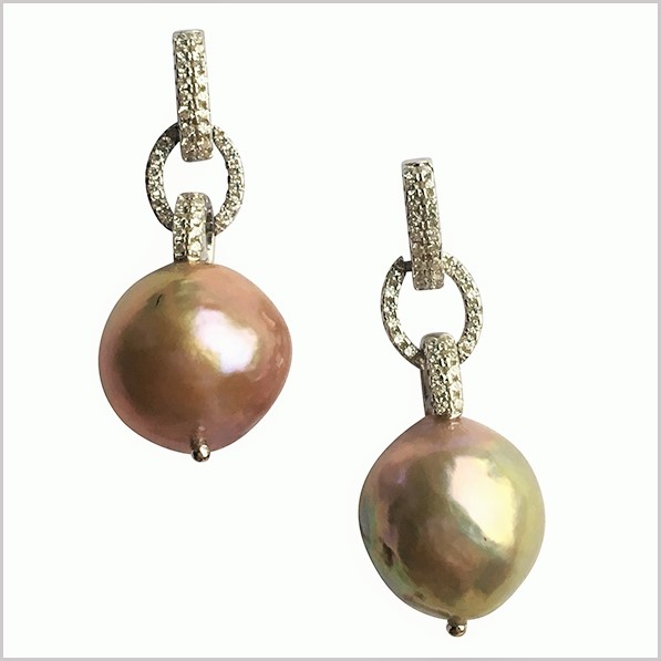 Lido Pearls Earrings - T148E Edison Pearls-0